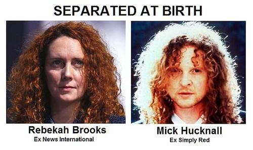 SEPARATED AT BIRTH BROOKS HUCKNALL