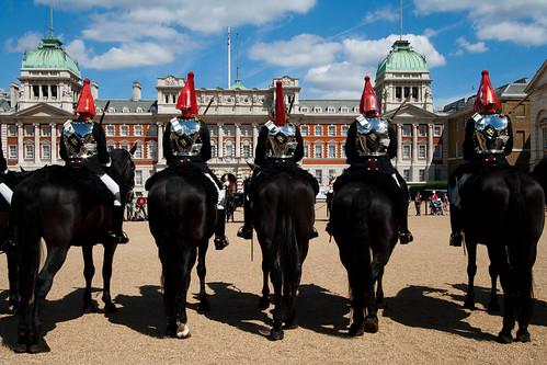 Cambio de Guardia en Horse Guards