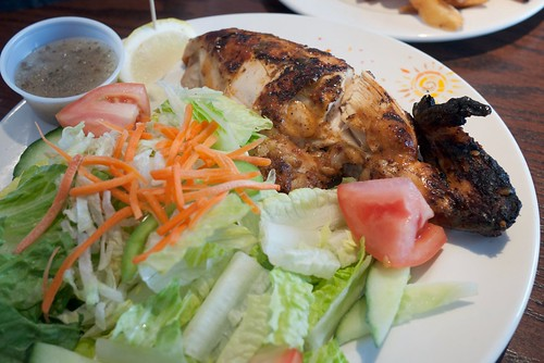 Quarter Chicken with Tossed Salad @ Nando's