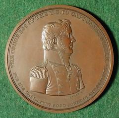 Biddle medal obverse
