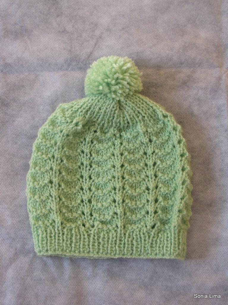 Touca Correntinha (Sonia Lima - Tricô e Crochê) Tags  handmade crochet  artesanato clothes 2599d5c9661
