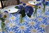 (mimminie) Tags: birthday blue white yellow hydrangea feverfew shastadaisies cornflowers happyflowers