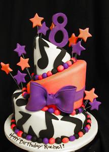 Topsy Turvy Rock Star Cake