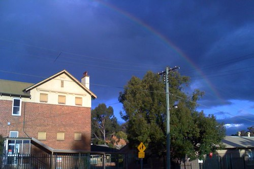 Rainbow over school (#12)