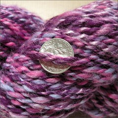Bainbridge Island handspun, close-up