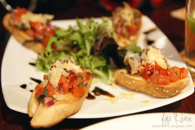 Bruschetta, St James Hotel