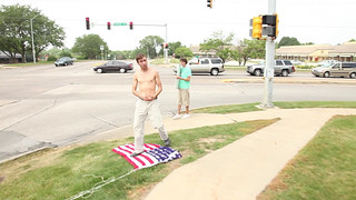 Anti-Torture Vigil - Week 56: If the Flag Stands for Torture, We Should Stand on the Flag