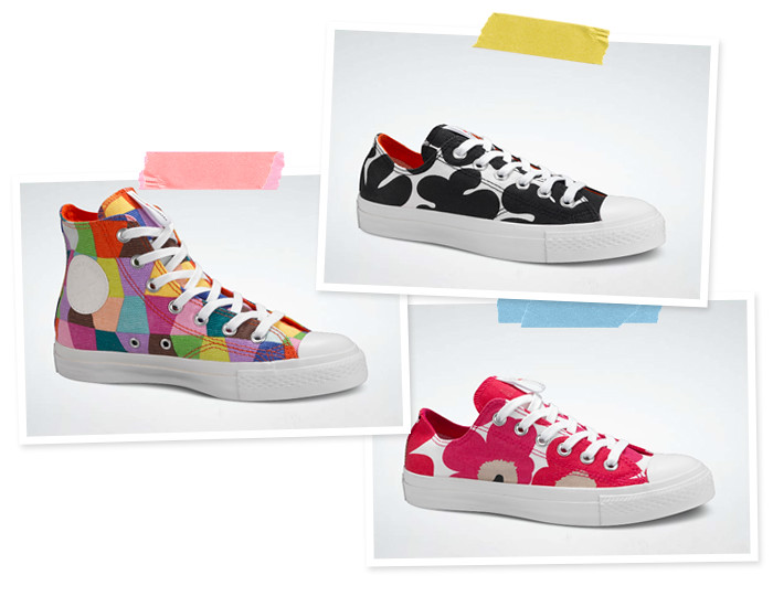Marimekko All Star Chucks by Converse