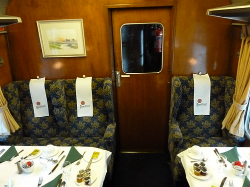 Inside The Pilsner Urquell Express to the British Open 2011