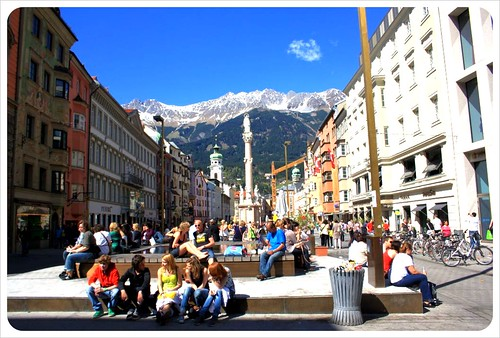 Innsbruck town center