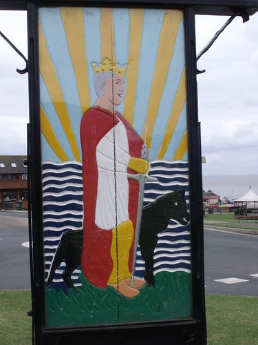 Hunstanton - The Green - town sign