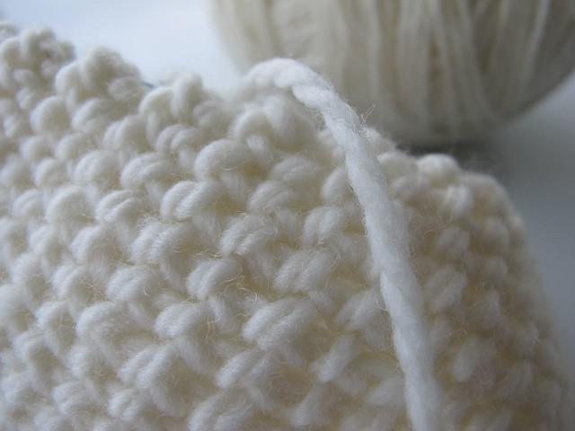 Brioche stitch, the B side