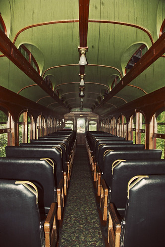 Inside the 1880 Train