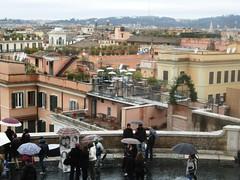 Viste dall'alto - Roma (La minina) Tags: italy rome roma italia tetti fromabove roofs cloudyday panoramaurbano giornatapiovosa gettyimagesitalyq1 datrinitdeimonti