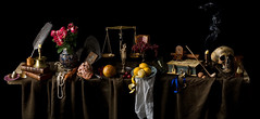 The Seven Ages of Man - Still Life (kevsyd) Tags: stilllife notes 645d kevinbest dutchstilllife 7agesonman