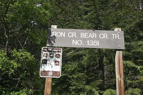 Iron Creek/Bear Creek Trailhead