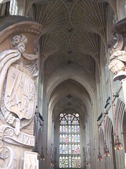 Abbey doors in Bath