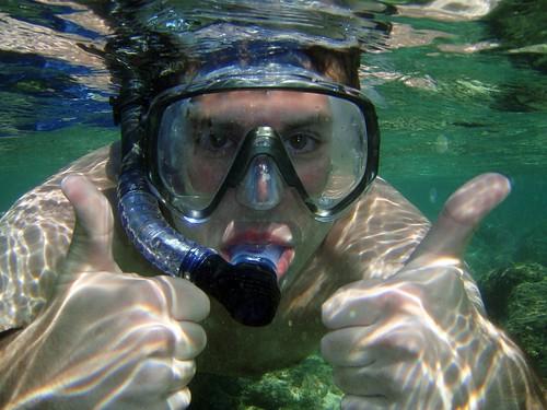 Kenny Snorkeling