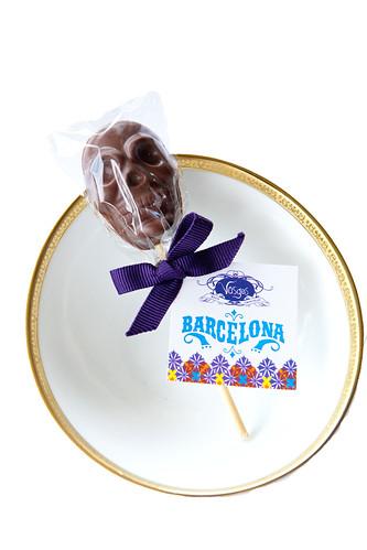 Día de los Muertos Skull Barcelona Lollipop