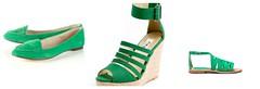 green shoe 1