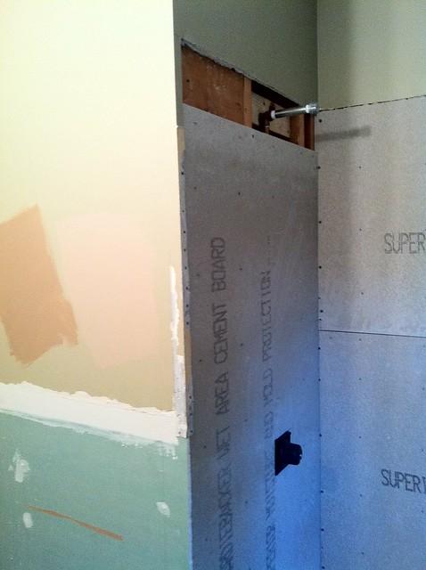 Reuse Existing Mud Bed For New Porcelain Tile Kitchen
