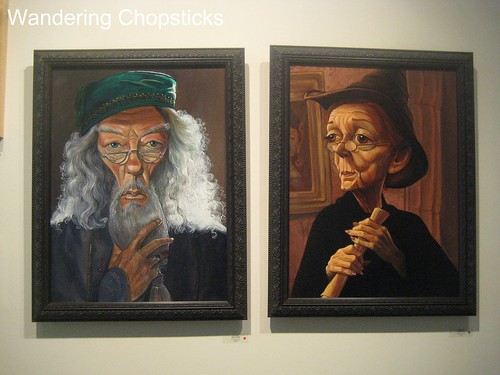 Harry Potter Tribute Exhibition - Nucleus Art Gallery and Store - Alhambra 8