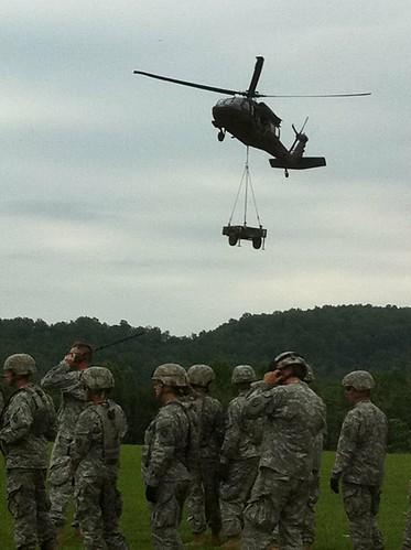 1-149th (Rear) training