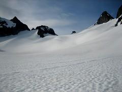 Gentle Dana glacier