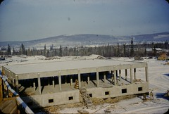 DSC09613 (Mike Leavenworth) Tags: wood color alaska vintage concrete kodak ak slide 1950s forms barracks coe afb eielson corpsofengineers eileson