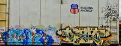 ?orr? Dert? (NoMasters) Tags: train graffiti graf trains freighttrains wyoming graff piece freight cheyenne wy freights 2011 benching