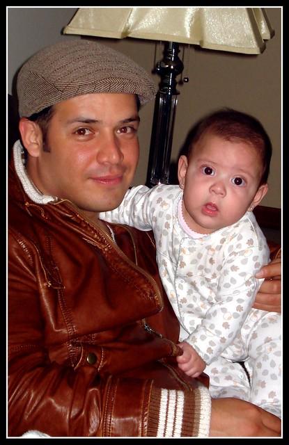 Maria Fe y su papi ♥