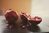 pomegranates (In Memory Lane~) Tags: fruit 35mm dof bokeh mark pomegranate ii 5d 35l