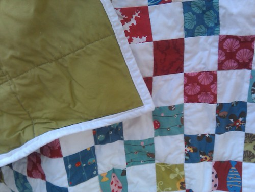 Odyssea quilt back