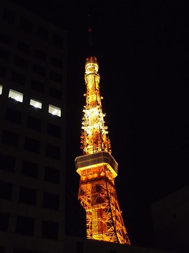 東京タワー 2011/3/11 帰路にて