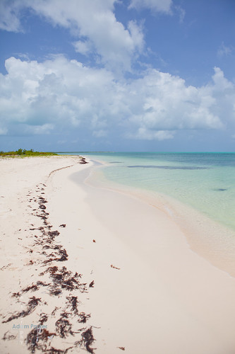 Easy to find an empty beach in Barbuda