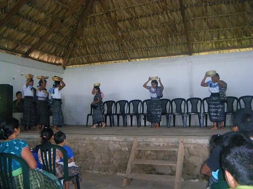 Traditional market dance
