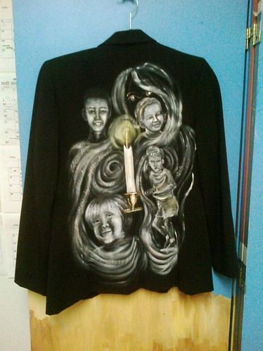 I see dead people: Michele Behme's Jacket