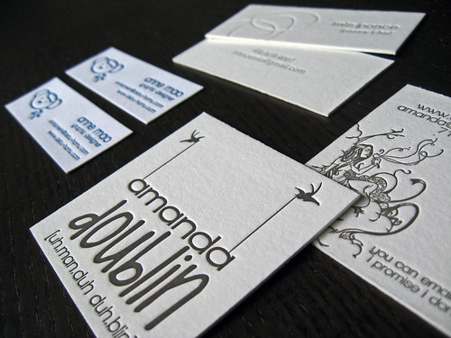 Square Business Card Size