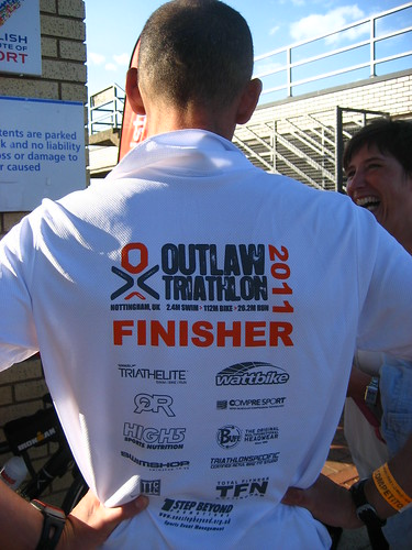 Outlaw in his Finisher t-shirt