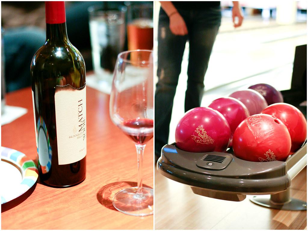 Wine & Bowling