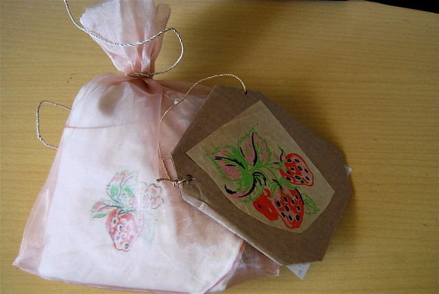 recipe card n' apron gift