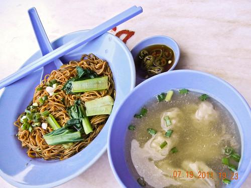DSCN1020 云吞面 , wanton noodle