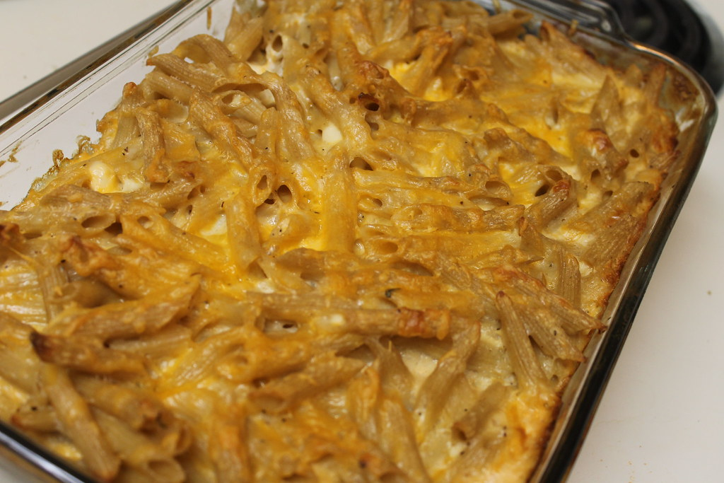 Cheesy Organic Pasta Bake (Southern Cooking)