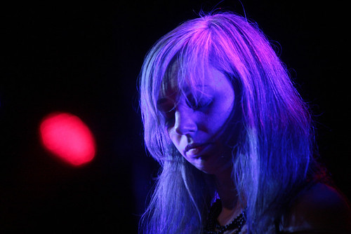 Natalia In Blue