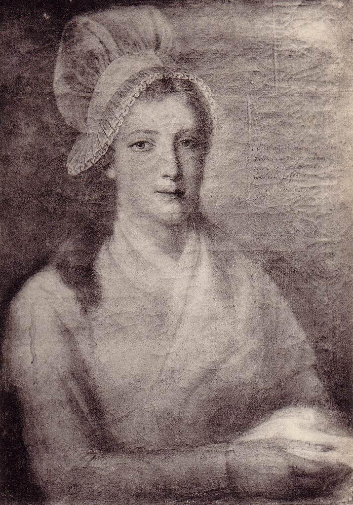 Jean-Jacques Hauer, Portrait de Charlotte Corday (1793)