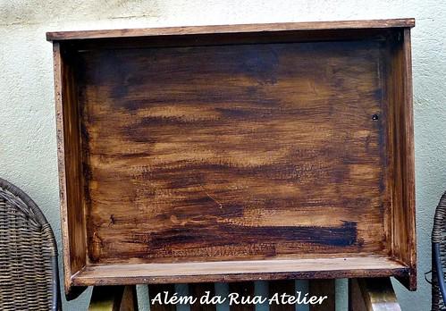 Faça você mesmo ! Reciclagem de gaveta antiga, com PASSO A PASSO !!!
