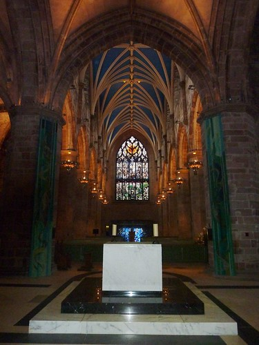 Inside St Giles Cathedral