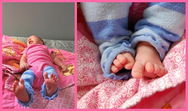 Ellie toes
