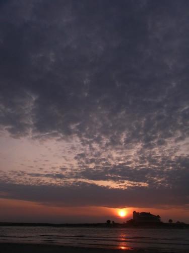 sky vs land