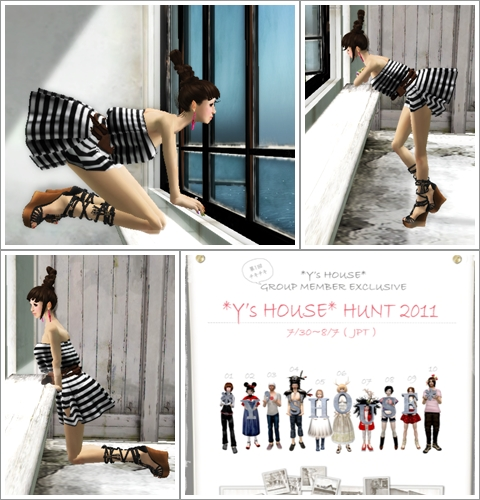 *Y's HOUSE*HUNT2011